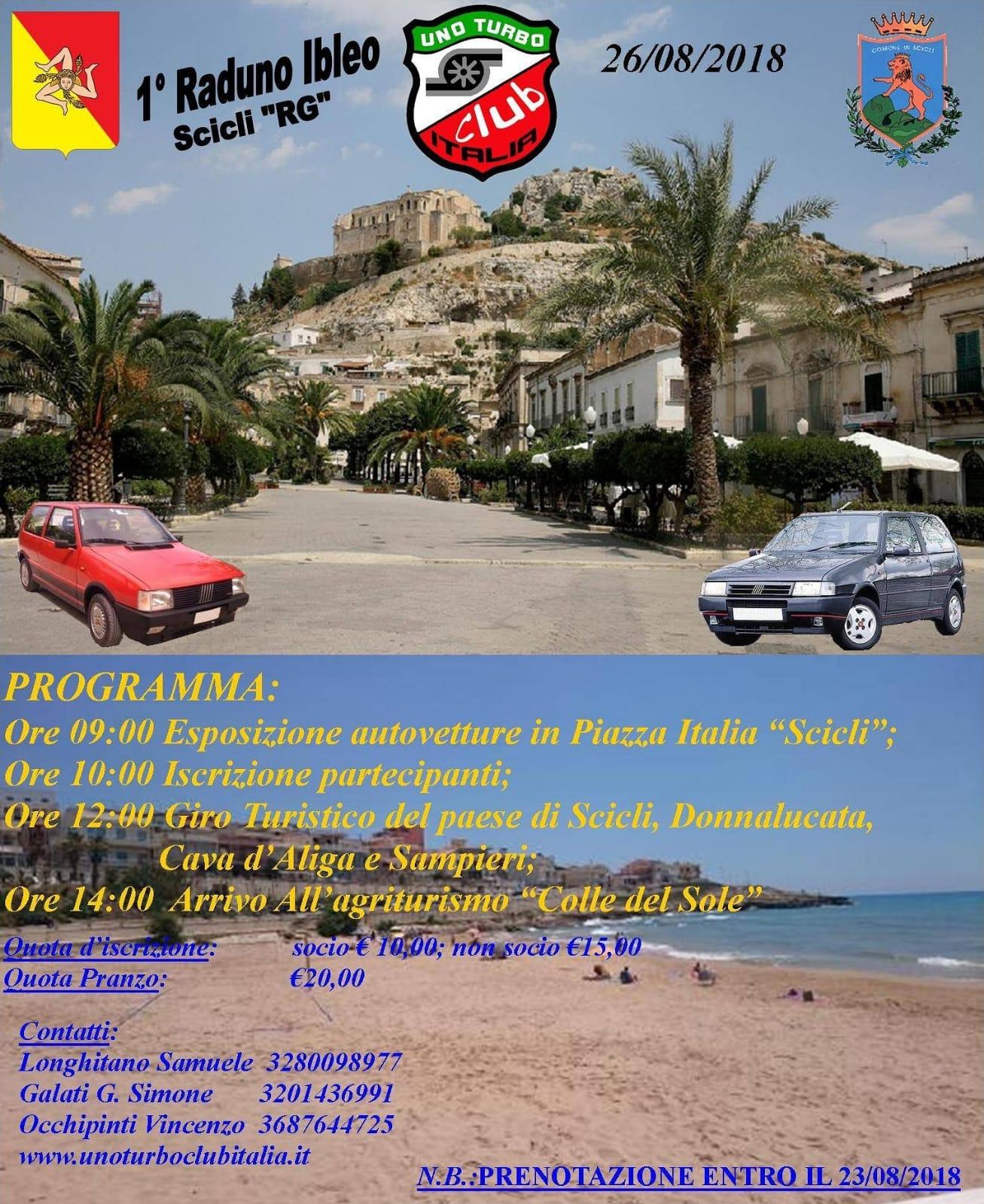 """Raduno Ibleo """"SCICLI"""" U.T.C.I. Sezione Sicilia"""